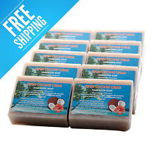 BANABAN 10 x Virgin COCONUT CREAM Handmade Soaps FREE SHIPPING