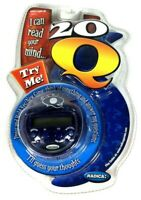 Radica 20Q Handheld Electronic Mind Reading, 20 Questions Game Toy, New Sealed
