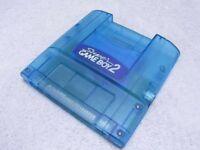 Used Nintendo Super Gameboy 2 SNES SFC GB Clear Blue