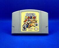 PAPER MARIO For Nintendo 64 US Version *Read Description *