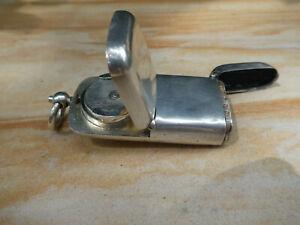 Antique Hallmarked Sterling Silver Vesta/Sovereign Case Birmingham 1899 Matthews