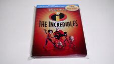 The Incredibles Future Shop Blu-ray Viva Metal Box | Pixar Disney Steelbook MINT