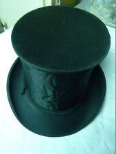 Chapeau claque Epoque 1880/1900, en bon état