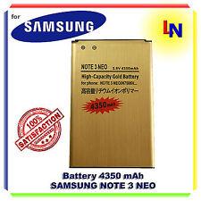 Batteria maggiorata GOLD 4350mAh per Samsung Galaxy Note 3 mini Note 3 Neo N7505