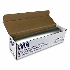 """GEN Standard Aluminum Foil Roll 12"""" x 500 ft 7110"""