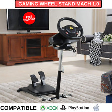 Folding Gaming Wheel Stand Mach 1.0 Compatible With Xbox One PS4 And PC And More