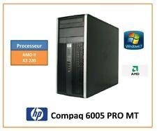 DESTOCKAGE PC HP Compaq 6005 Pro MT