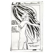 "Raymond Pettibon ""Liz"" 1990 SST Publications. #32/50"