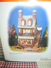 "New ListingDept. 56 Snow Village Halloween ""Helga's House of Fortunes"""