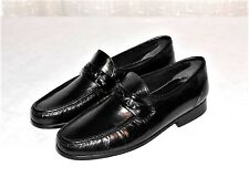 Stafford Black Leather Dress Loafer Slip On Shoe Men's Size 8.5 D