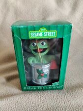 Oscar The Grouch Sesame Street Ornament Gibson 1998