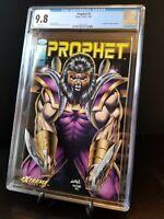 Prophet #1 CGC 9.8 WP Image Comics Rob Liefeld Dan Panosian (1993) 2103712012