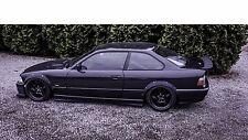 BMW E36 2-doors wide body kit. ABS plastic fender flares set. 4 pieces.