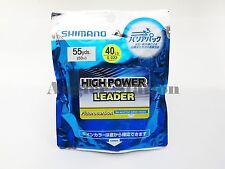 Shimano High-Power 40lb/50m Fluorocarbon Fishing Leader Line