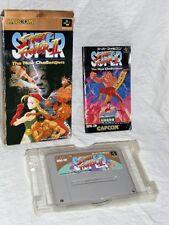 WOW! Super Street Fighter II 2 (Super Nintendo, 1994) Japan!