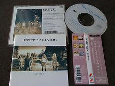 PRETTY MAIDS / offside / JAPAN LTD CD OBI