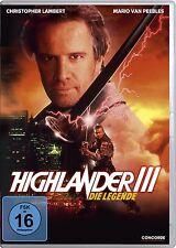 HIGHLANDER 3 III Legende MARIO VAN PEEBLES Lambert DVD