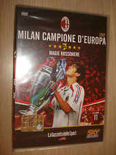 DVD N° 3 COLLANA MILAN CAMPIONE D'EUROPA 2007 SKY SPORT MAGIE ROSSONERE SEALED