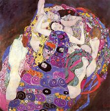 Gustav Klimt Reproductions: The Virgins - Fine Art Print