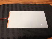 "7"" X 4"" inch pdlc Smart film Glass switchable glass electrochromic"