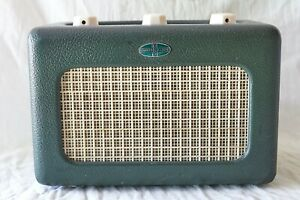 ROBERTS R66 VALVE MAINS/BATTERY PORTABLE RADIO.1950'S.SERVICED/OVERHAULED