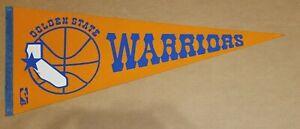 Golden State Warriors 1970's / 1980's Vintage NBA Basketball Team Pennant