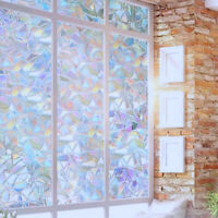Window Privacy Film Stained Glass Decorative Home Frosted Static Cling Sticker
