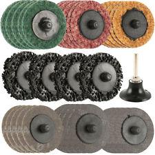 "35Pcs Sanding Discs Set, 2"" Type R Roll Lock Discs Pads Sanding Roloc Abrasives"