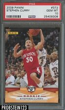 2009 Panini #372 Stephen Curry Warriors RC Rookie PSA 10 GEM MINT