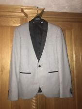 Prom/wedding dinner suit combo, black checked jacket 38R, blk trousers 31&32 in