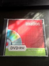 Imation DVD-RW 4.7GB x 120 Minutes  Free Delivery Brand New Sealed