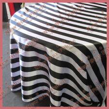 Striped Satin Round Tablecloths Ebay