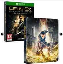 Deus Ex Mankind Divided Day One Edition + Steelbook / Steelcase  (Xbox One )