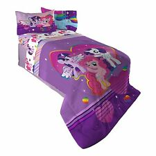 Hasbro ML4398 My Little Pony Ponyfied Reversible Comforter Twin/Full New