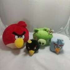 Angry Birds LOT SPACE FLOCK Super Red Lazer Lightning Monster Ice Plush