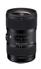 "SIGMA 18-35mm F1.8 DC HSM ""a"" ARTE Lens per Nikon AF (UK Stock) nuovo con scatola"