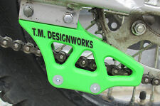 KAWASAKI KX85 REAR CHAIN GUIDE BLOCK GREEN FACTORY EDITION 2 RCG-KA85 KX100