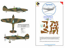 Hawker Hurricane Pat A Paint Mask1/24