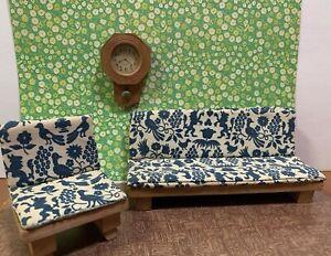 Wooden Vintage Dollhouse Sofas For Sale Ebay