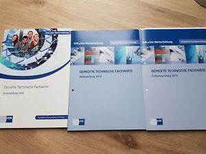 Prüfungen Kaufmännischer/Technischer Fachwirt - WQ und HQ/TQ + Lösungen bis 2019