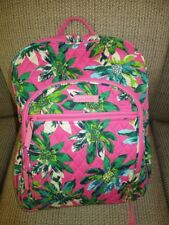VERA BRADLEY Campus Backpack TROPICAL PARADISE College School Work