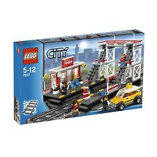 LEGO ® CITY FERROVIA STAZIONE 7937 NUOVO OVP TRAIN STATION NEW MISB NRFB