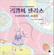 Preview Alice in Wonderland Coloring Book For Adults Gift Fun Relax DIY Craft