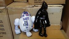 Star WARS-Lot de 2 HOLIDAY ORNEMENT hanging plush-Darth Vader et r2d2