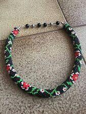 ~ ~ ~ tres-gorg! ~ ~ ~ uber-amaz handmade perline collana giapponese pietre gioielli