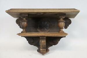 Gründerzeit Konsole Regal Ablage Holz um 1880 (DM685)