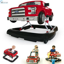 Baby Walker Ford F150 Red 3 Ways To Play Push Behind Safety Seat Activity Infant