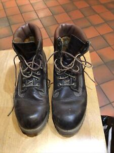 Timberland Brown Heritage Leather  Boots Size 7.5 RRP £199
