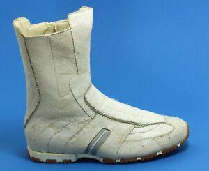 687 Schnürschuhe Halbschuhe Boots Damenschuhe Sneaker 90er Leder Diesel 38