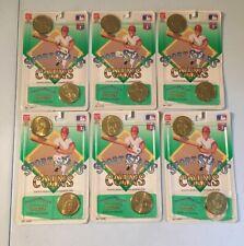 Bandai 1990 MLB SportStars Collector Coins Lot - Cal Ripken MATTINGLY Doc Gooden
